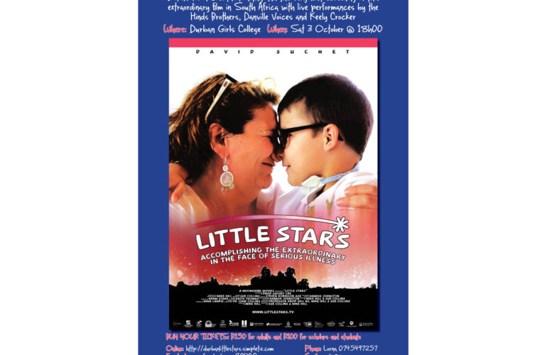 Little Stars South African premiere to raise funds for local hospice