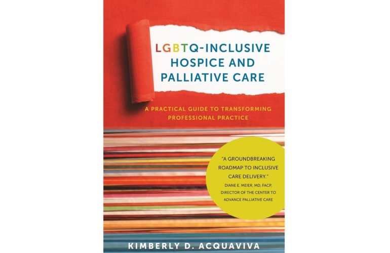 New book about LGBTQ-inclusive hospice care is relevant to all patients