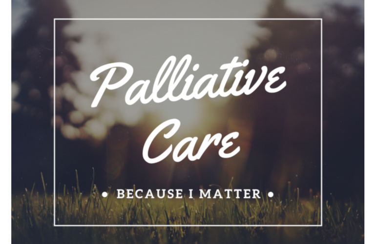 World Hospice and Palliative Care Day 2018 theme announced: Palliative Care – Because I Matter