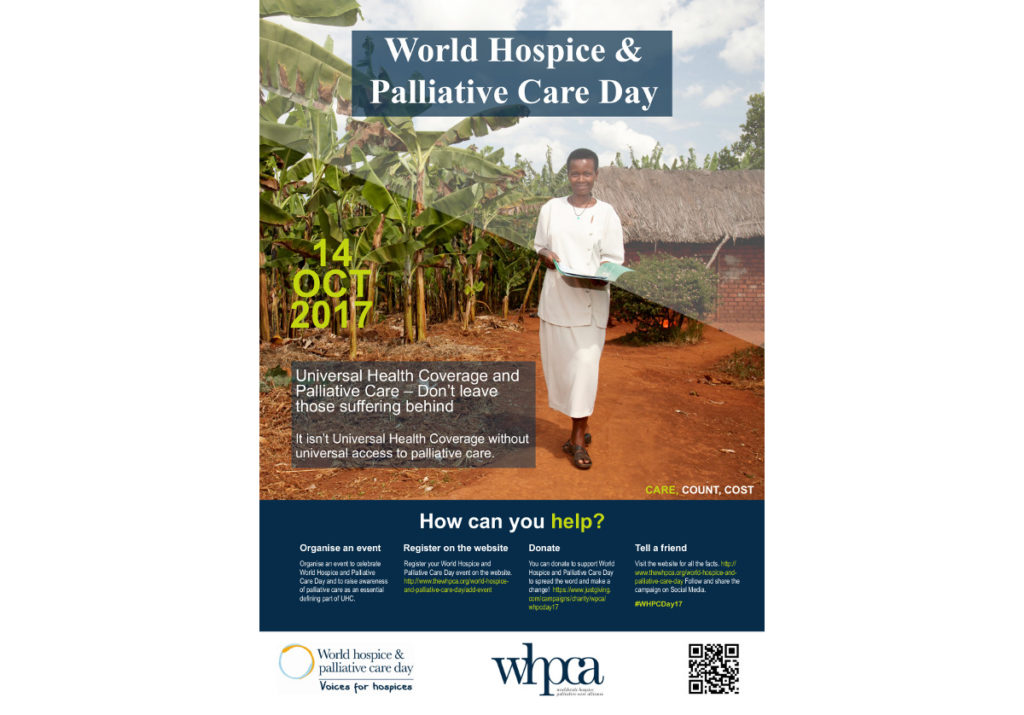 World Hospice and Palliative Care Day – global day of action highlights palliative care as part of Universal Health Coverage