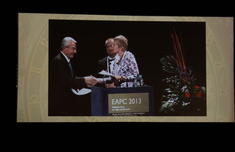 Prague charter presented to Czech Minister of Health at EAPC 2013