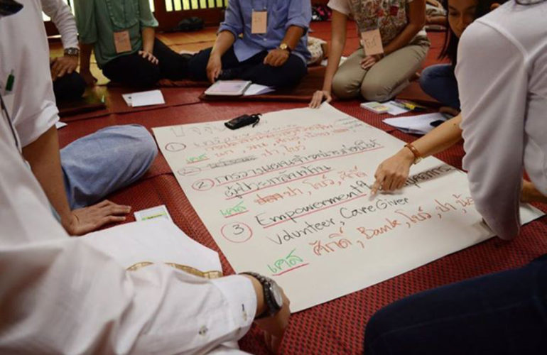 Palliative Home Care workshop held in Thailand