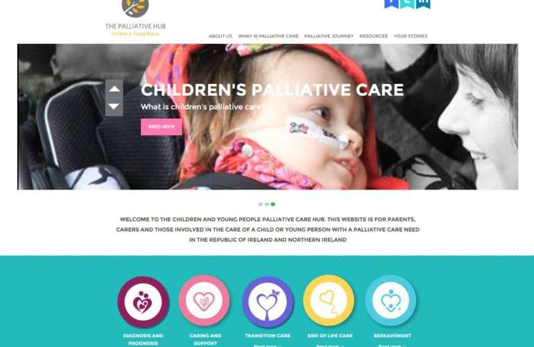 New website launched in Ireland for parents of children with life limiting illnesses