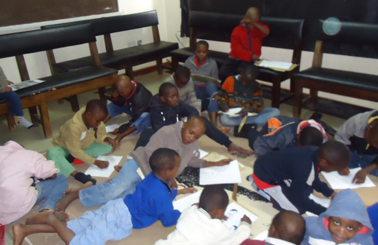 Working together to help kids at KNH