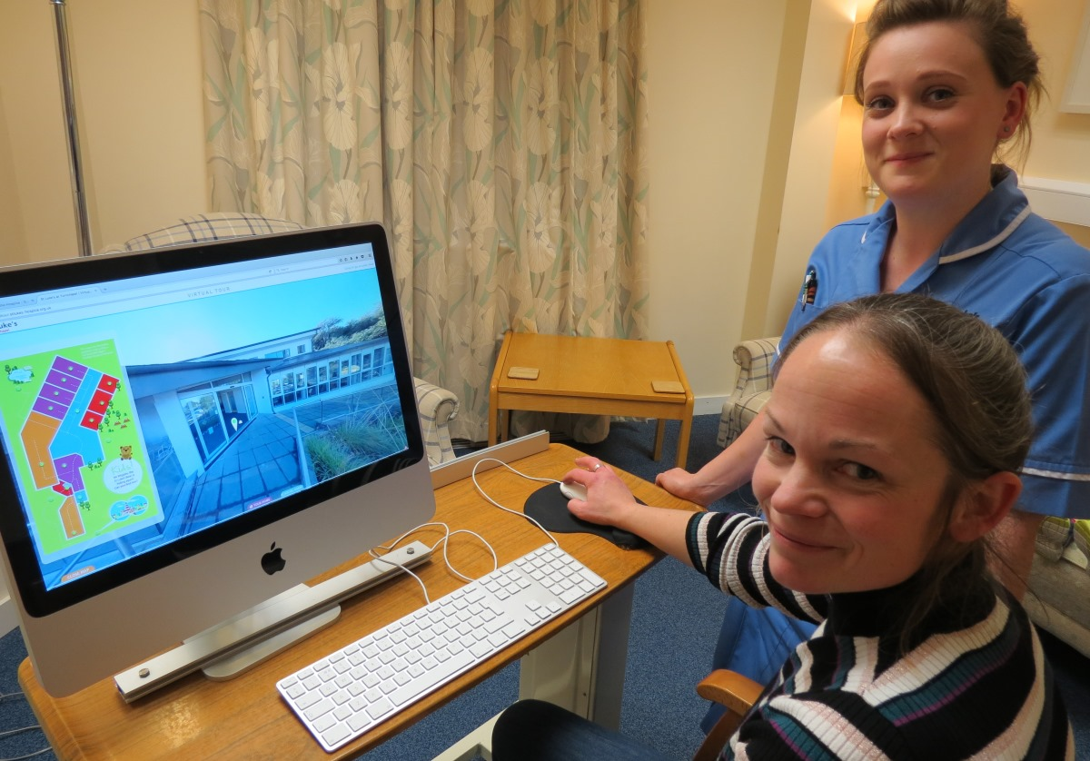 New virtual tour offers a look behind the doors of St Luke's Hospice