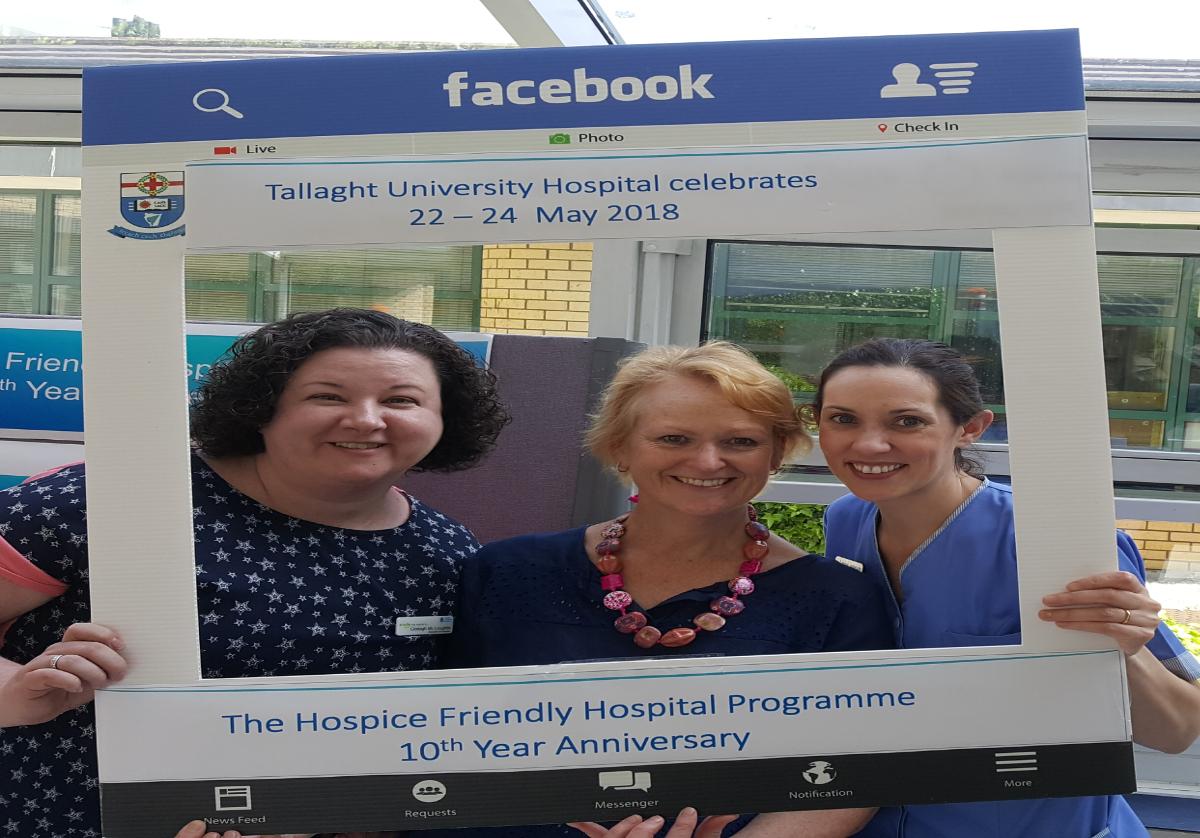Tallaght University Hospital celebrates 10 years of Hospice Friendly Hospitals