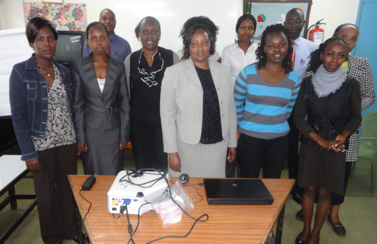 Non-Health Professionals train at Nairobi Hospice