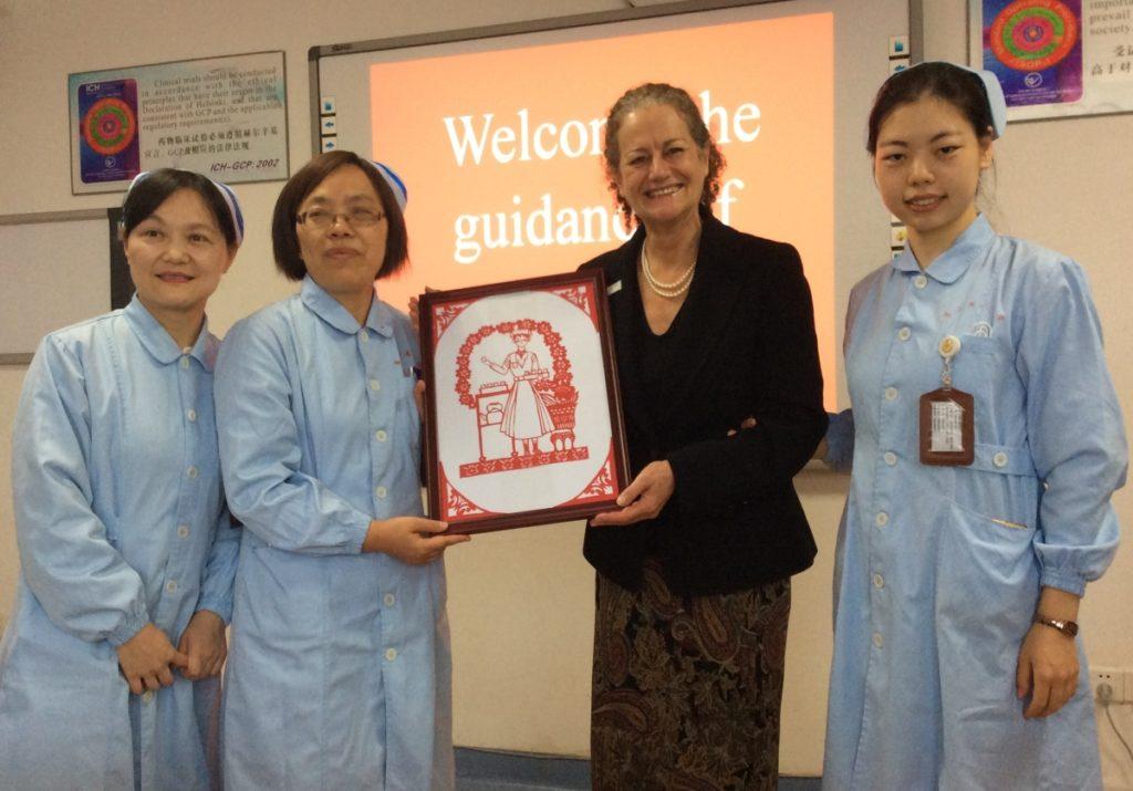Sharing best practice British palliative care with China
