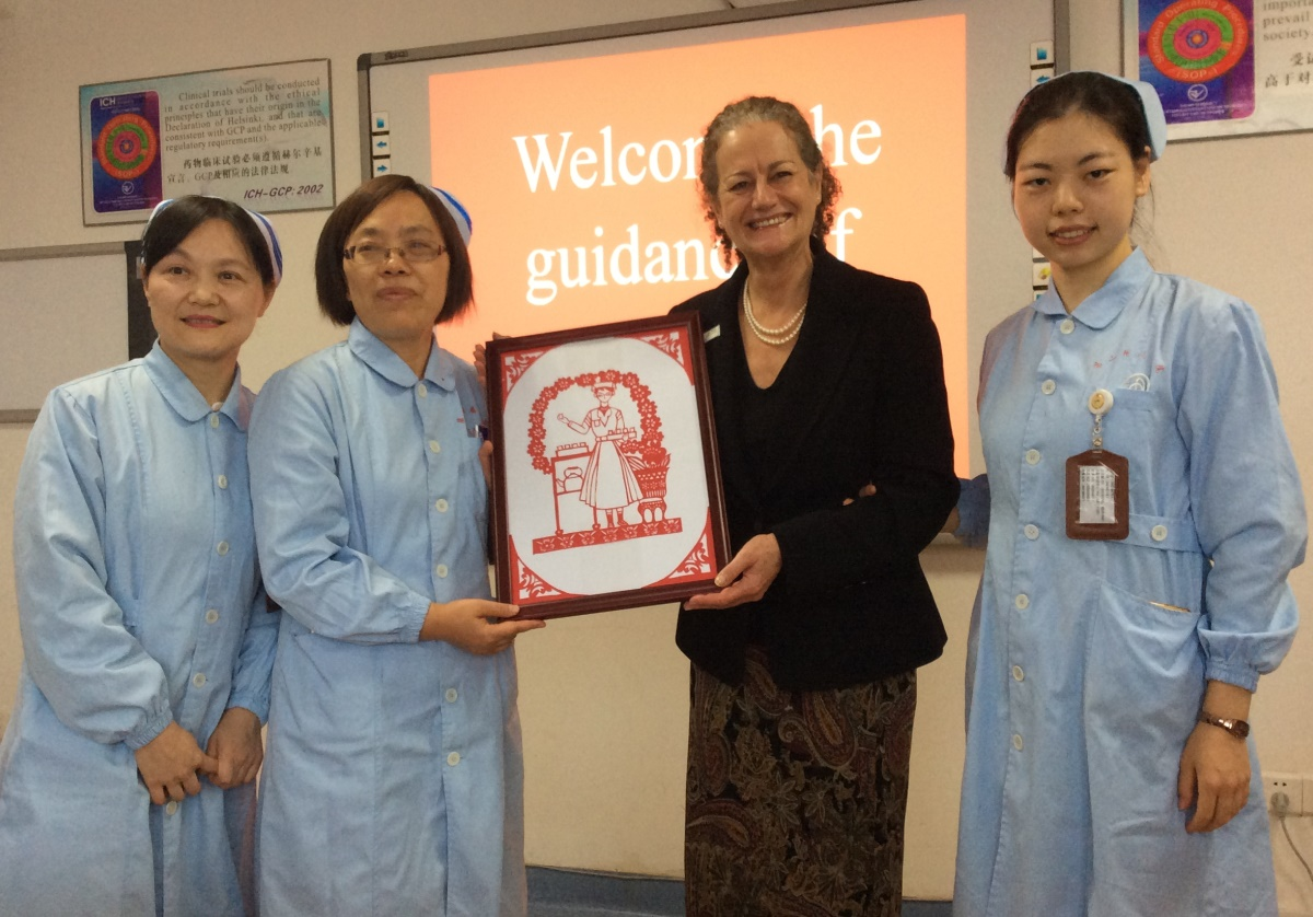 Sharing best practice British palliative care with China