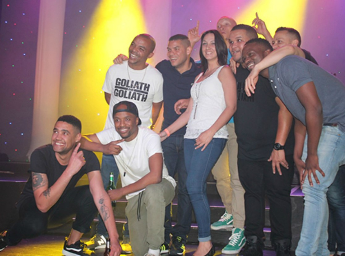 Jason Goliath and friends bring down the house for Stepping Stone