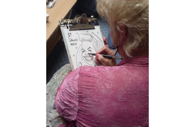 Why I volunteer: The hospice caricaturist