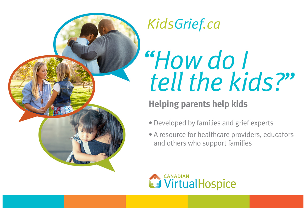 New free, online tool helps caregivers support children in times of grief