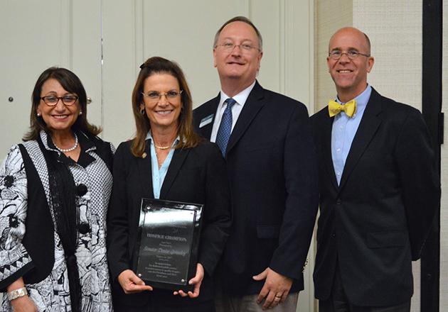 Florida Senator Grimsley recognized by FHPCA