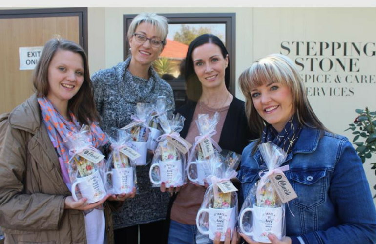 Stepping Stone Hospice caregivers get spoiled