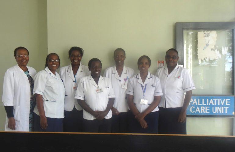 The journey of Kenyatta National Hospital Palliative Care Unit