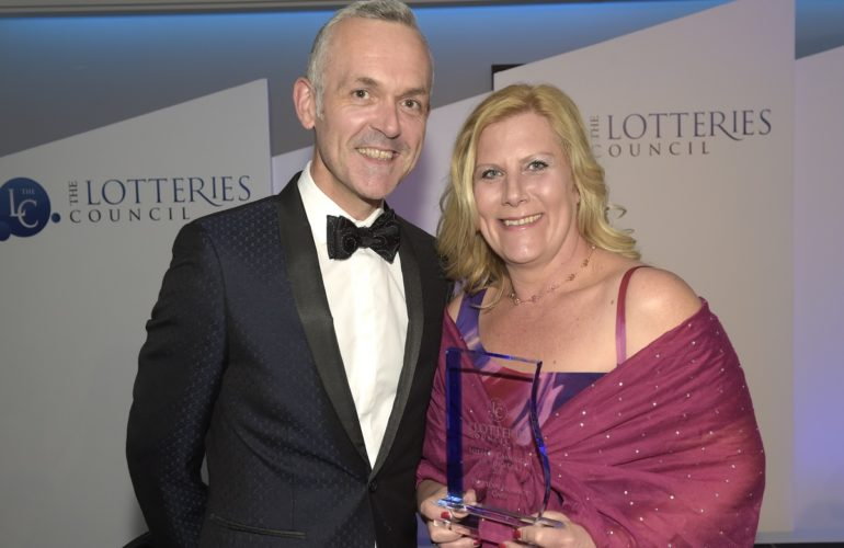Local hospice wins national Lottery Operator of the Year
