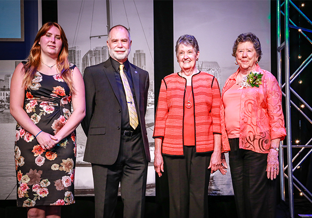 Hospice Volunteers honored at national conference