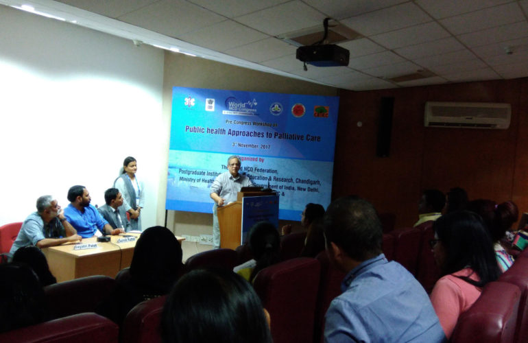 Public health approaches to palliative care in India and Bangladesh discussed by regional practitioners