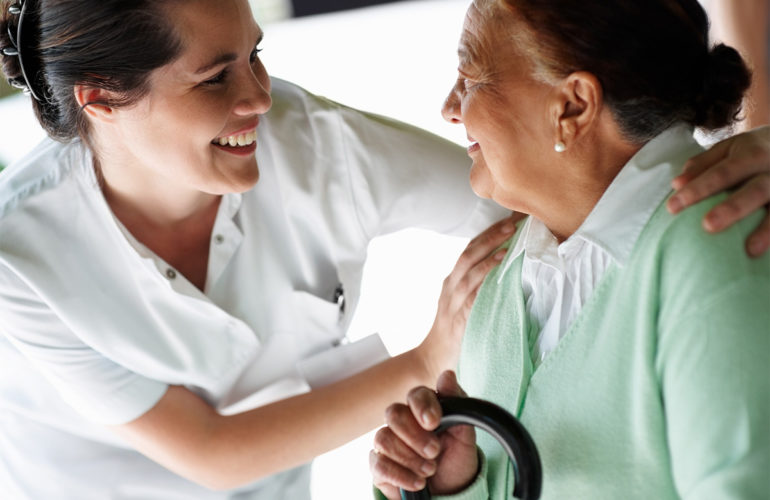 Personal Support Worker (PSW): caring at life's end