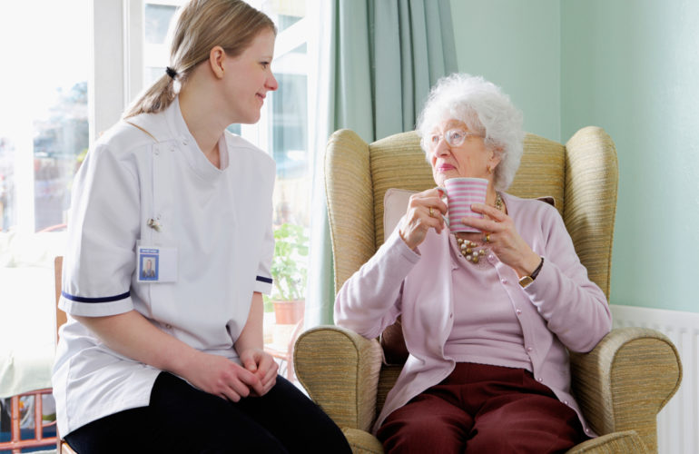How a caregiver assessment can promote seniors' mental health