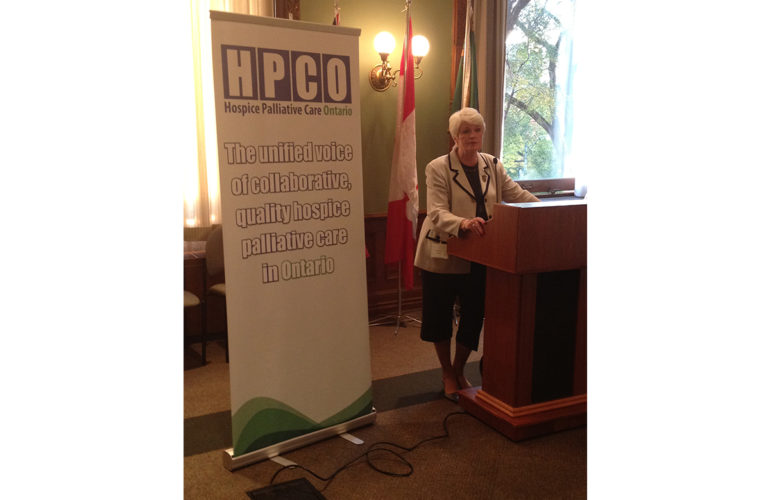 HPCO Advocates for Improved Hospice Palliative Care