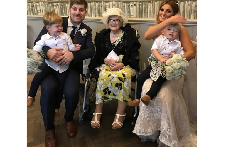 Hospice makes it possible for patient to attend granddaughter's wedding