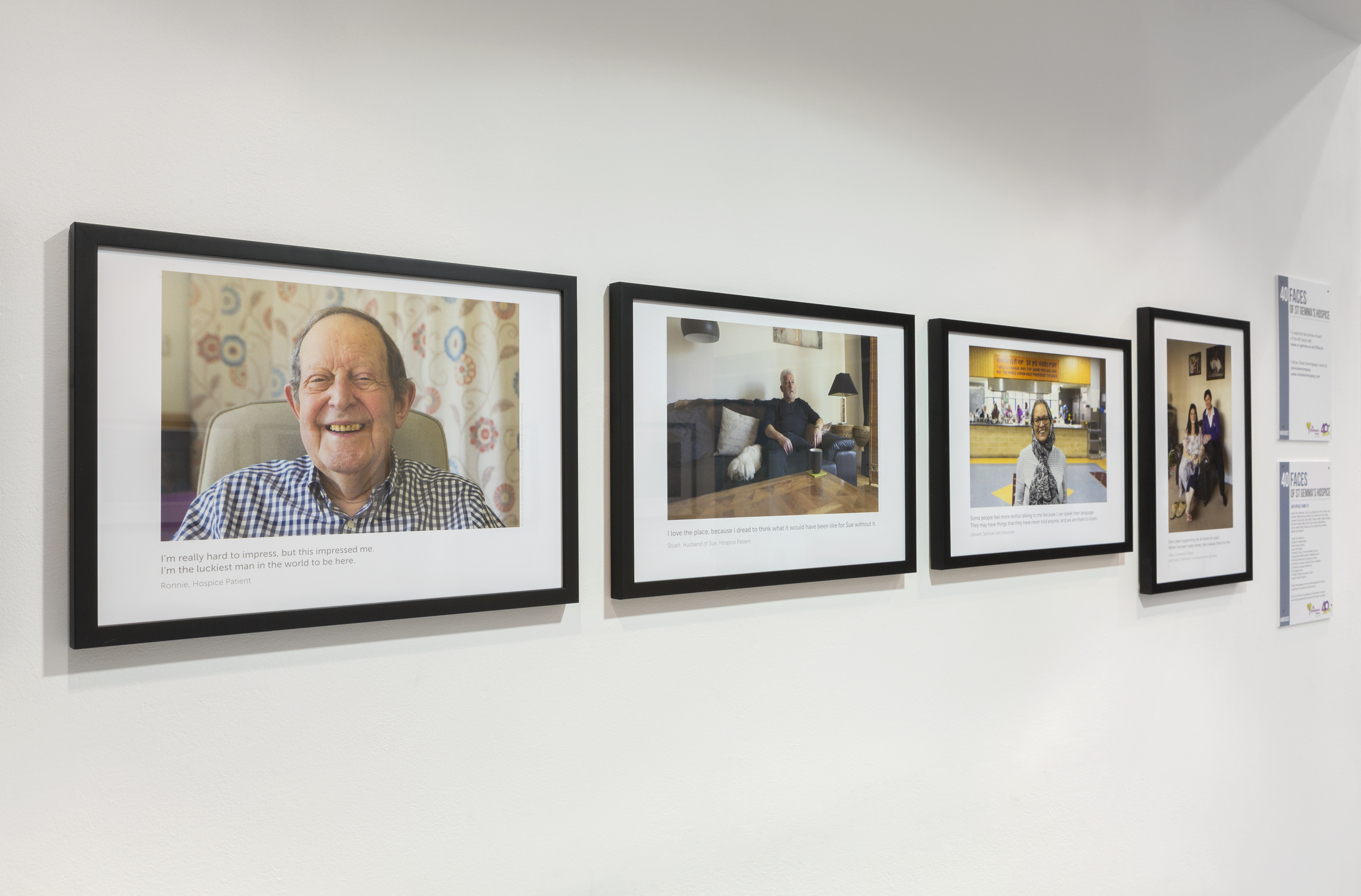 Exhibition challenges people's preconceptions of hospices