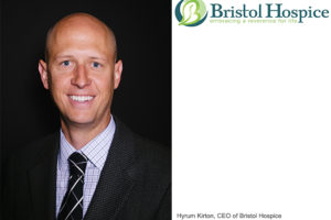 Hyrum Kirton, CEO of Bristol Hospice