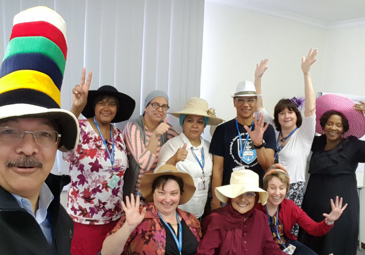 Make a date to wear a hat this Friday 12 October