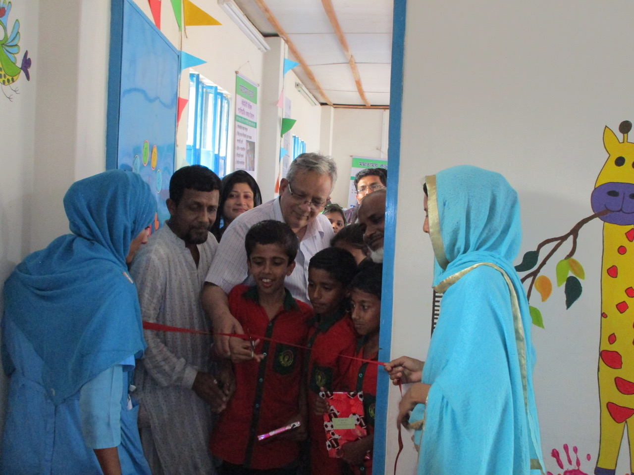 Play Centre opens at the Korail Slum Palliative Care Centre in Bangladesh