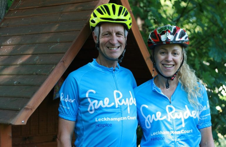 """I cycled every day to radiotherapy"" says hospice supporter ahead of riding challenge"
