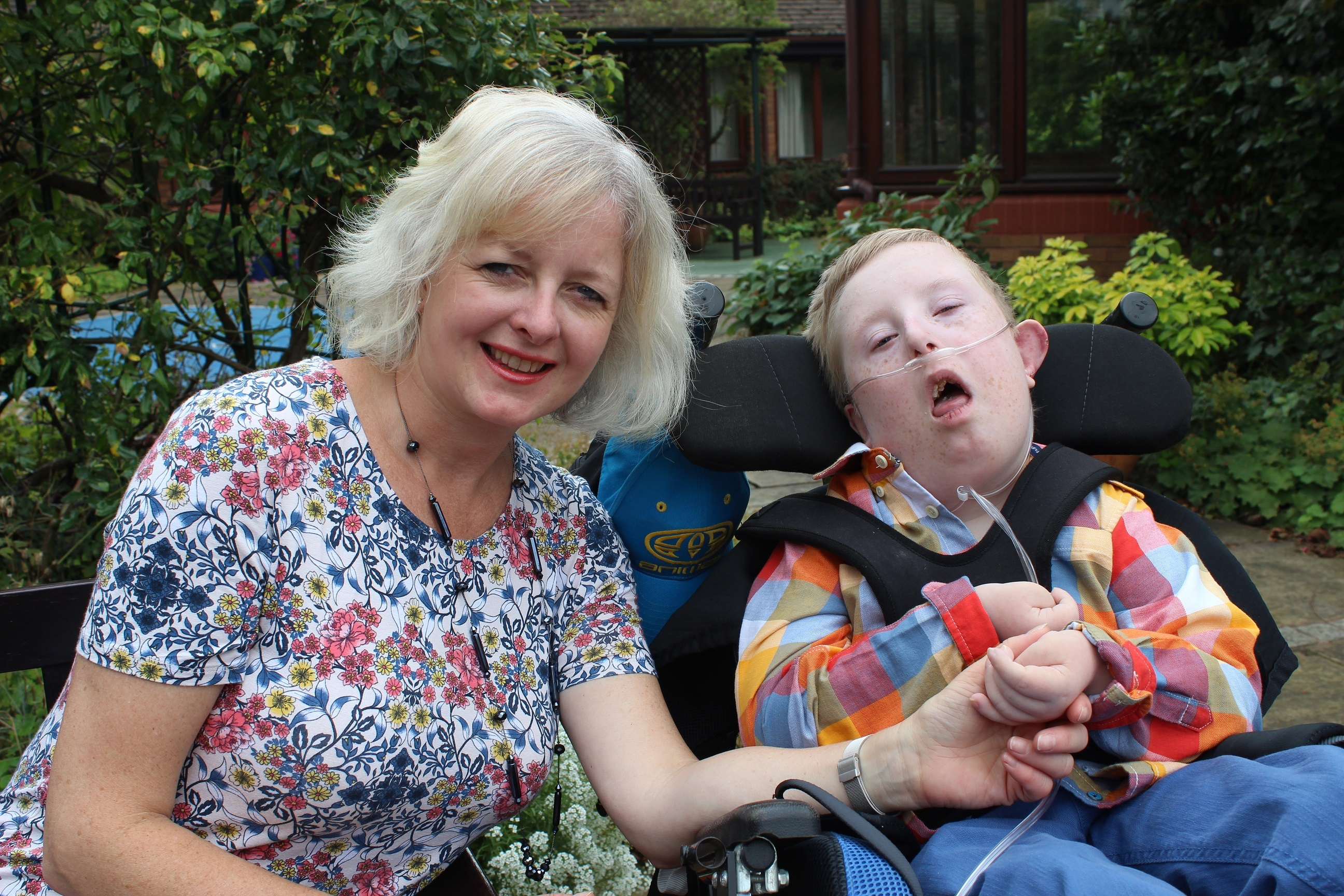 Family finds respite at children's hospice