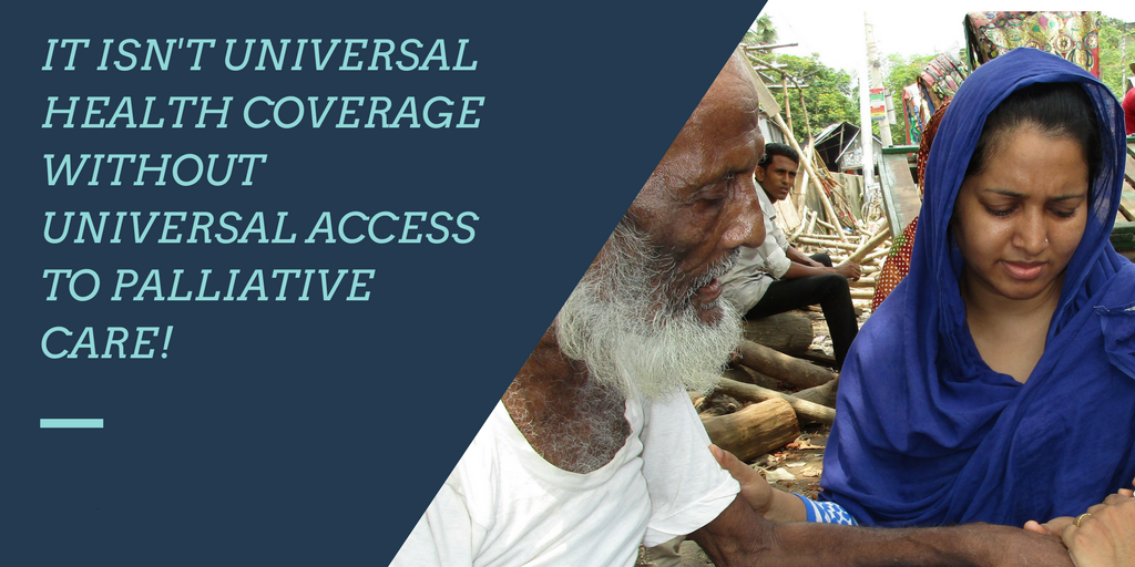 International organisations publish new fact sheet on palliative care and Universal Health Coverage