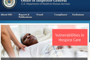 OIG released a new report on hospice care on July 31.