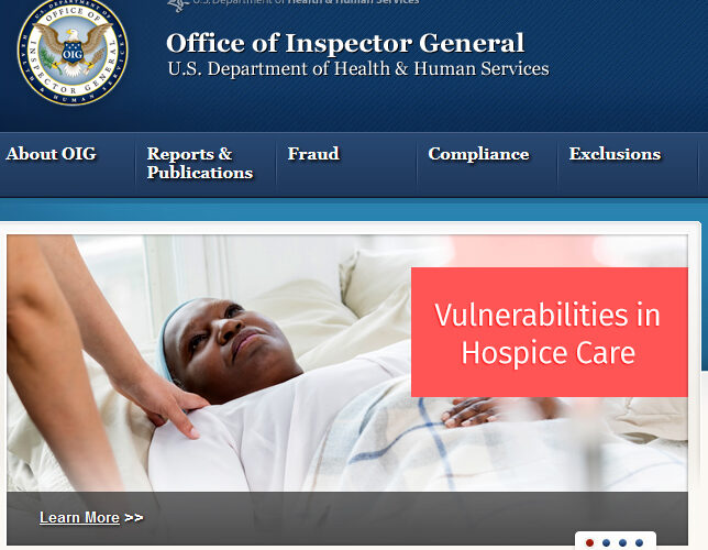 NHPCO Responds to OIG Report