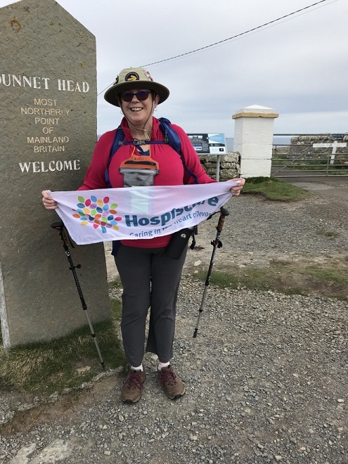 Fundraiser walks a thousand miles for hospice