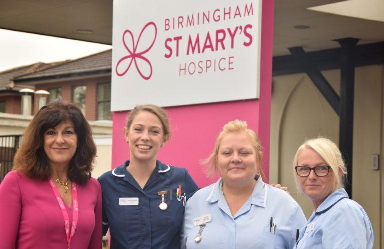 Birmingham hospice unveils new brand