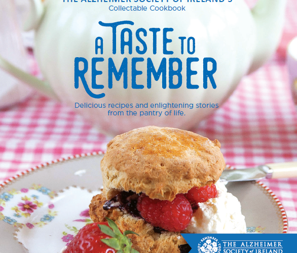 The Alzheimer society of Ireland launches new cookbook 'A taste to remember'