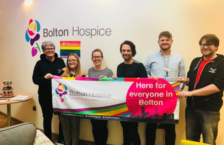 Bolton Hospice host Pride celebration