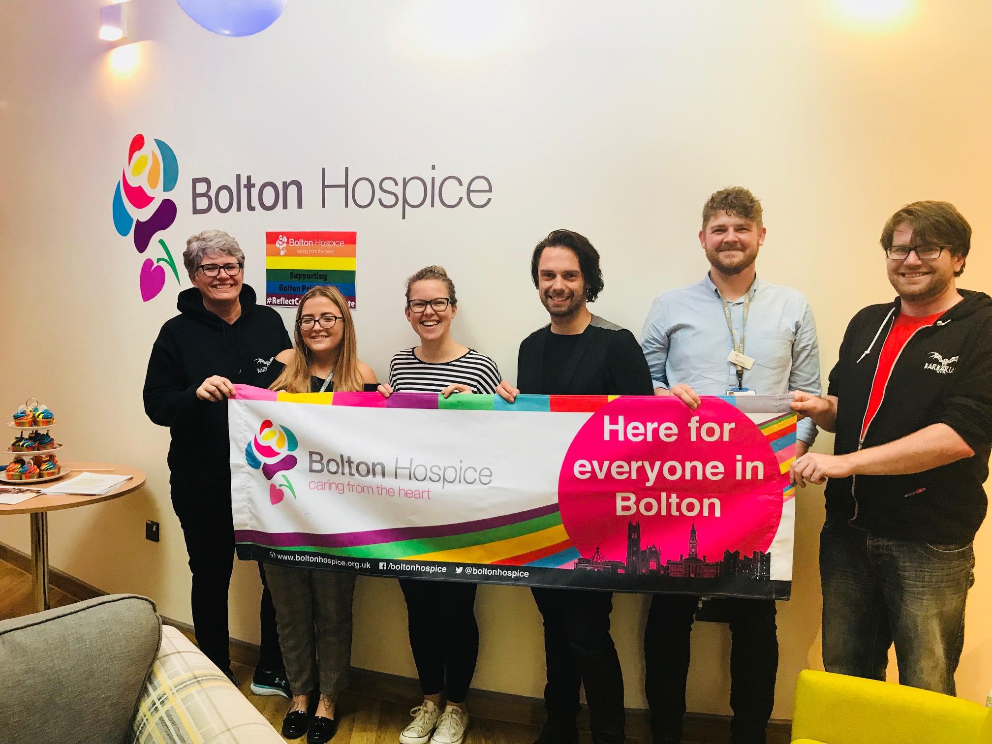 Bolton Hospice host Pride celebration