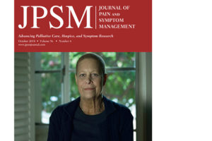 October 2018 issue of Journal of Pain and Symptom Management.