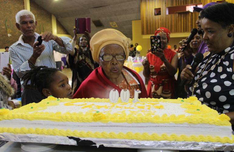 Ouma Enica's 100th Birthday