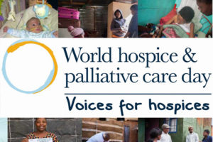 The next World Hospice and Palliative Care Day is on October 13, 2018.