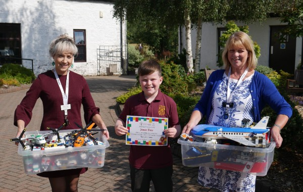 Ten-year-old donates entire Lego collection to hospice