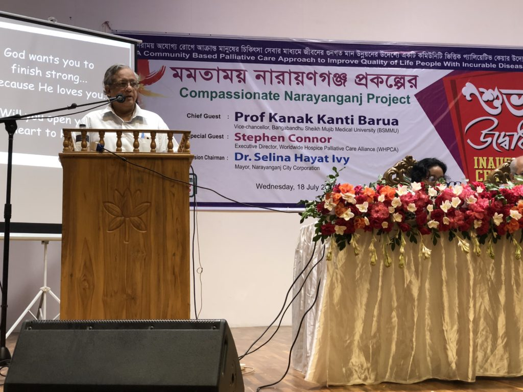 UK Aid Direct funded palliative care project launches in Bangladesh with strong community support