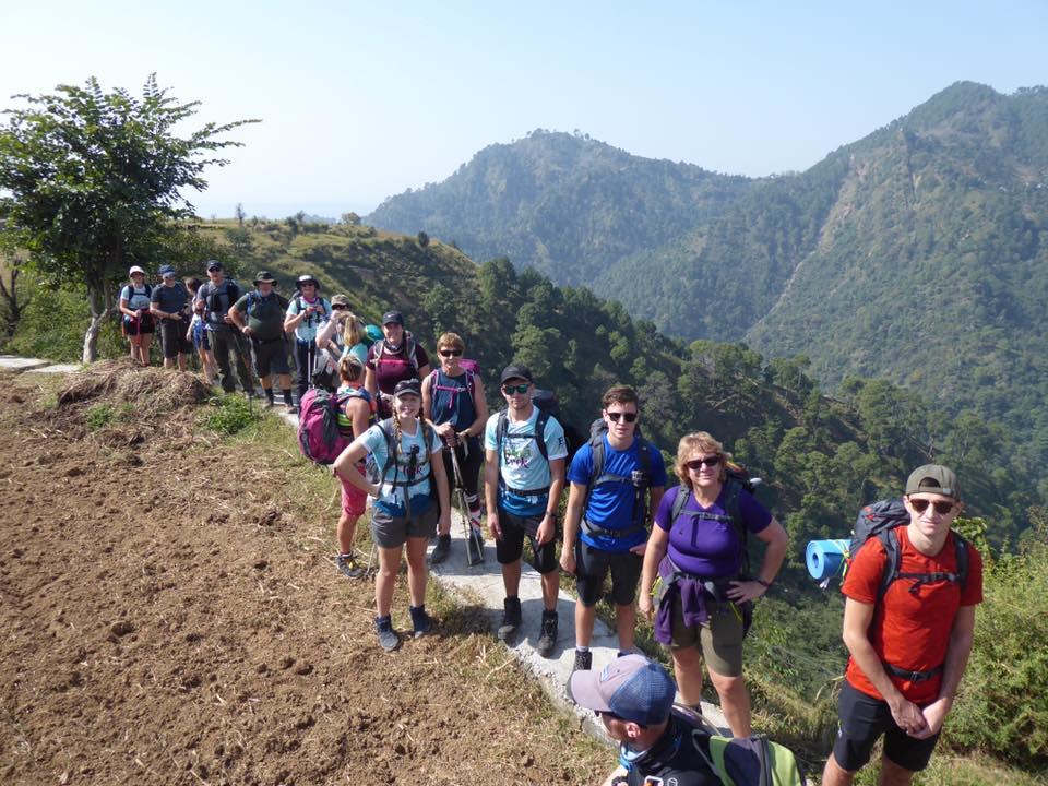 Explorers trek the Himalayas to raise money for hospice