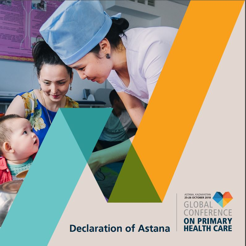 Historic Astana 2018 Declaration on Universal Health Care includes references to palliative care