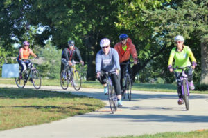 A Gorgeous Day for Bike Michiana and Walk for Hospice.