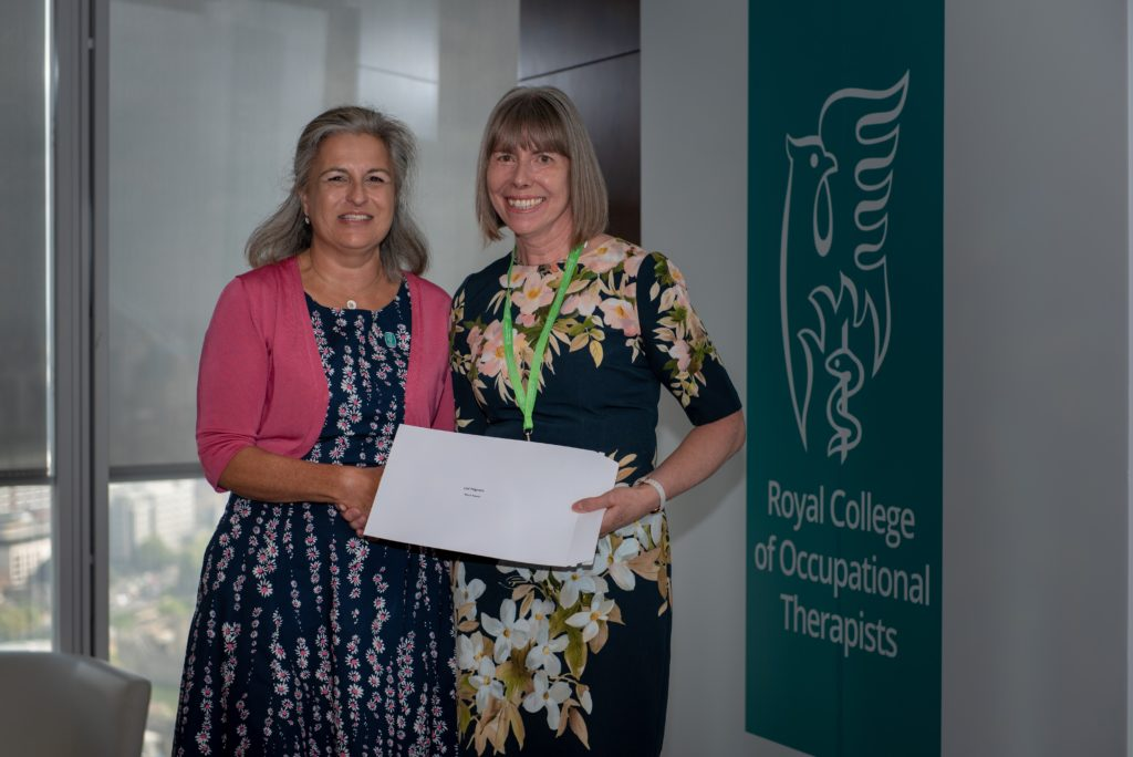 Occupational Therapist wins national award