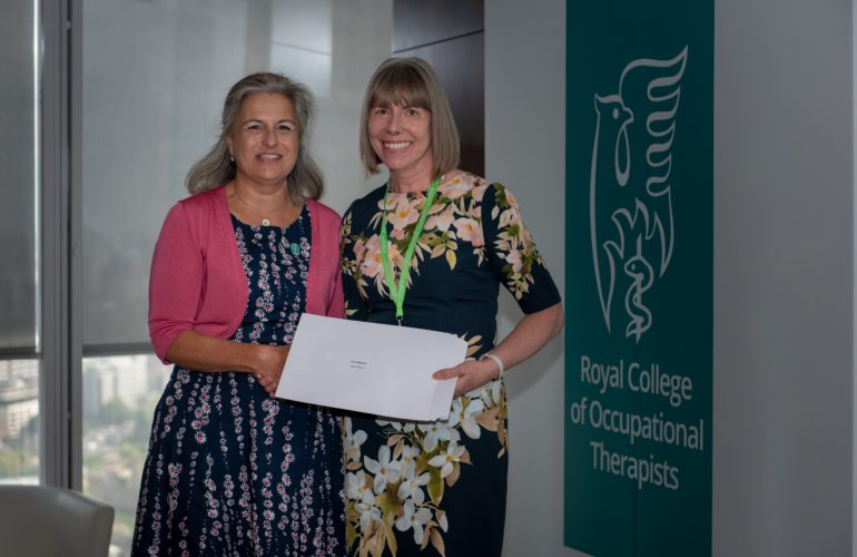 Occupational Therapist wins national award